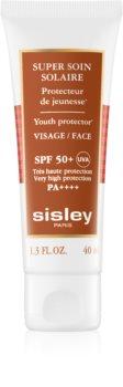 Sisley Sun protetor solar à prova d'água para o rosto SPF 50+