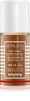 Sisley Sun crema protectoare impotriva imbatranirii pielii SPF 15