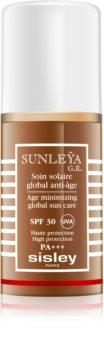 Sisley Sun schützende Creme gegen Hautalterung SPF 30