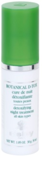 Sisley Botanical D-Tox serum na noc do wszystkich rodzajów skóry