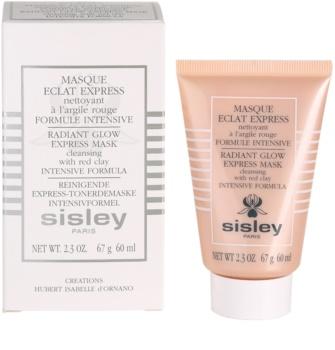 Sisley Radiant Glow Express Mask maseczka do twarzy rozjaśniający