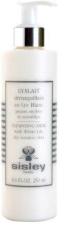 Sisley Lyslait leite facial de limpeza para pele seca e sensível