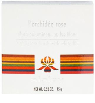 Sisley L'Orchidée Rose rozjasňující tvářenka