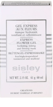 Sisley Express Flower Gel mascarilla exprés en gel para una piel fresca y aterciopelada
