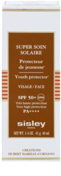 Sisley Sun водостійкий крем для обличчя для засмаги SPF50+