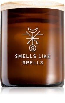 Smells Like Spells Norse Magic Eir vela perfumada com pavio de madeira (healing/health)