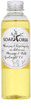 Soaphoria Babyphoria masaj organic și ulei de pentru un somn liniștit pentru copii