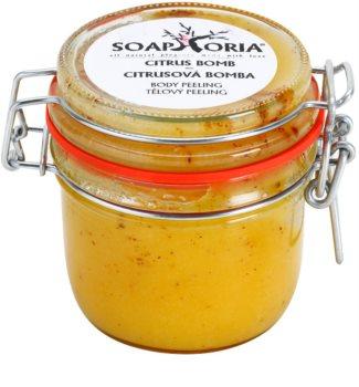 Soaphoria Citrus Bomb exfoliant corp