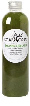 Soaphoria Hair Care folyékony organikus sampon zsíros hajra