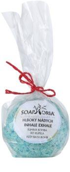 Soaphoria Inhale Exhale Badebomben mit regenerierender Wirkung