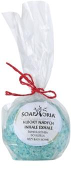 Soaphoria Inhale Exhale fürdőbomba regeneráló hatással