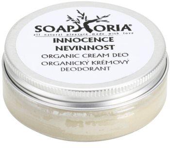 Soaphoria Innocence desodorizante orgânico em creme