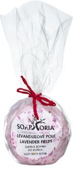 Soaphoria Lavender Fields Bath Blaster with Regenerative Effect