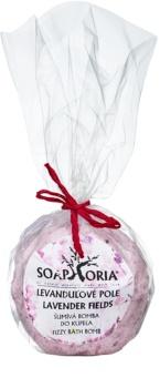 Soaphoria Lavender Fields kroglica za kopanje z regeneracijskim učinkom