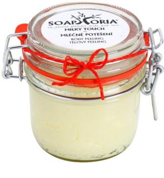 Soaphoria Milky Touch пілінг для тіла