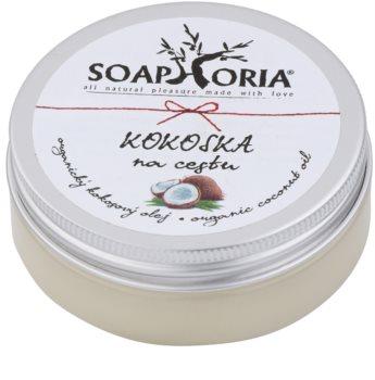 Soaphoria Organic Kokosnussöl unterwegs
