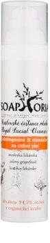 Soaphoria Royal Facial Cleanser leche limpiadora astringente y estimulante para pieles sensibles