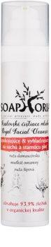 Soaphoria Royal Facial Cleanser loción calmante y suavizante para la piel seca y madura