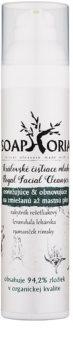 Soaphoria Royal Facial Cleanser osvěžující a obnovující čisticí mléko pro mastnou a smíšenou pleť