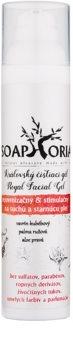 Soaphoria Royal Facial Gel gel de limpeza rejuvenescedor e estimulante para peles secas e maduras