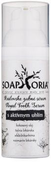 Soaphoria Royal Tooth Serum ser pentru dinți cu cărbune activ