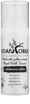 Soaphoria Royal Tooth Serum siero dentale al carbone attivo