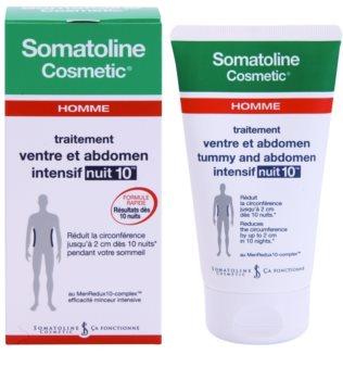 Somatoline Homme Nuit 10 krem wyszczuplający brzuch i biodra dla mężczyzn