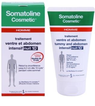 Somatoline Homme Nuit 10 Schlankheitscreme für Bauch und Hüften für Herren