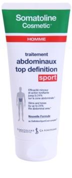 Somatoline Homme Sport schlankmachendes Gel zur Definition der Bauchmuskulatur für Herren