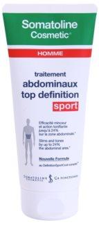 Somatoline Homme Sport zoštíhľujúci gél pre definíciu brušných svalov pre mužov