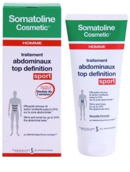 Somatoline Homme Sport zeštíhlující gel pro definici břišních svalů pro muže