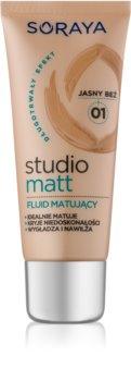 Soraya Studio Matt тональний крем з матуючим ефектом з вітаміном Е