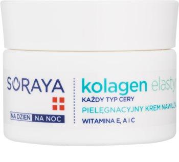 Soraya Collagen & Elastin creme hidratante com vitaminas