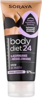 Soraya Body Diet 24 modelierende Creme zur Festigung des Dekolletés