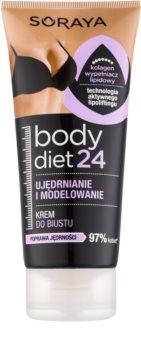 Soraya Body Diet 24 modellező krém dekoltázs feszesítésére