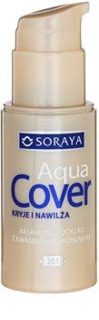Soraya Aqua Cover acoperire make-up cu efect de hidratare