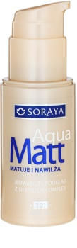 Soraya Aqua Matt machiaj cu efect matifiant cu efect de hidratare