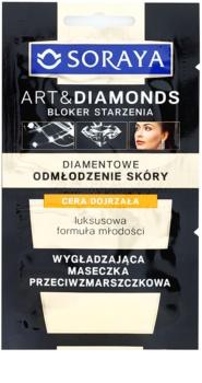 Soraya Art & Diamonds kisimító maszk ránctalanító hatással