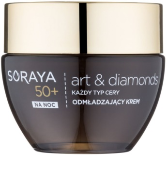 Soraya Art & Diamonds verjüngende Nachtcreme mit Diamantpulver
