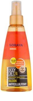 Soraya Body Diet 24 dvoufázový hydratační olej proti celulitidě