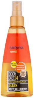 Soraya Body Diet 24 dwufazowy olejek nawilżający przeciw cellulitowi