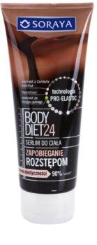 Soraya Body Diet 24 sérum refirmante  para eliminar as estrias