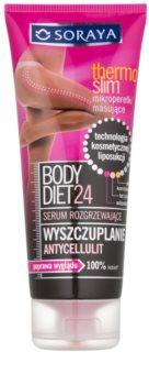Soraya Body Diet 24 zoštíhľujúce sérum proti celulitíde s hrejivým účinkom