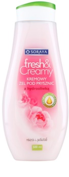 Soraya Fresh & Creamy cremiges Duschgel mit nahrhaften Effekt