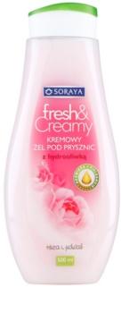 Soraya Fresh & Creamy kremowy żel pod prysznic o działaniu odżywczym