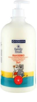 Soraya Family Fresh 2 in 1 gel de dus si sampon pentru copii