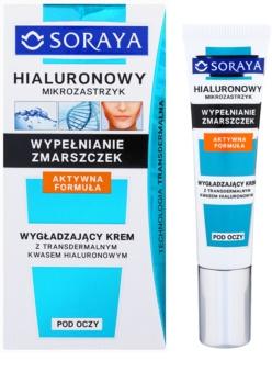 Soraya Hyaluronic Microinjection protivráskový krém na oční okolí s kyselinou hyaluronovou