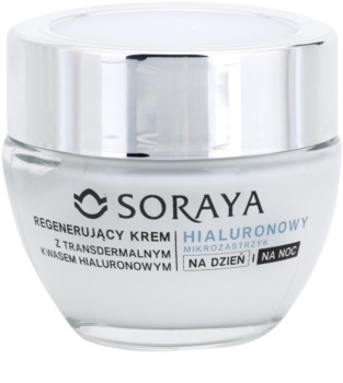 Soraya Hyaluronic Microinjection creme regenerador   com ácido hialurónico