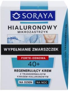 Soraya Hyaluronic Microinjection regenerační krém s kyselinou hyaluronovou