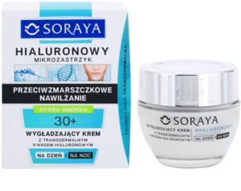 Soraya Hyaluronic Microinjection verfeinernde Crem mit Hyaluronsäure